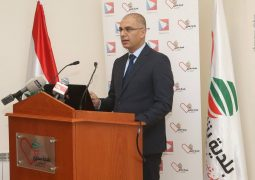 Mr Freddy Keyrouz presented his appreciations to whom put an effort in the initiative of helping the apple cultivators