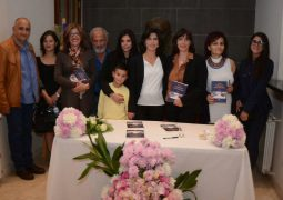 The municipality of Bcharri hosted the release of Aline Tawk's new book