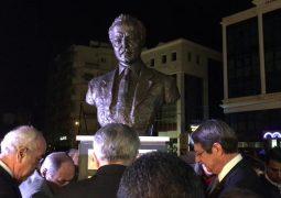 الرئيس القبرصي أزاح الستار عن تمثال لجبران في ليماسول: دوره ريادي في التأثير على الملايين في انحاء العالم