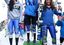 فضية وبرونزية لمانو عويس في بطولة الدول الصغرى في التزلج