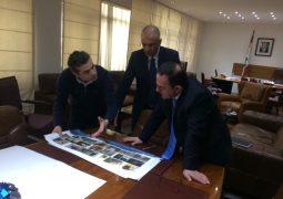 زار رئيس بلدية بشري فريدي كيروز وزير السياحة حيث عرض معه مشروع تأهيل مغارة قاديشا