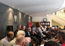 زيارة رئيس الهيئة العليا للإغاثة اللواء محمد خير لمدينة بشري
