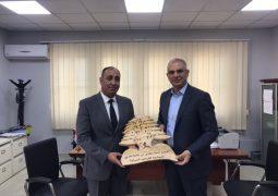 رئيس بلدية بشري زار الجامعة اللبنانية الدولية