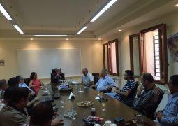 زار رئيس واعضاء لجنة جبران خليل جبران الوطنية بلدية بشري مهنئين بإنتخاب المجلس البلدي