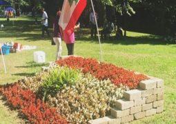 حديقة لبنان في كليفلاند تزرع علمَ لبنان بالزهور وقريباً يزيّنها جبران والأرز ورموز الحضارة الفينيقية